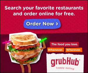 Order Online on GrubHub
